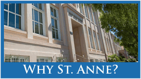 Why St. Anne?