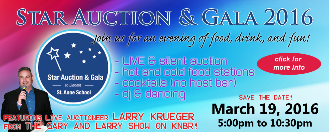 Star Auction & Gala 2016 – March 19, 2016