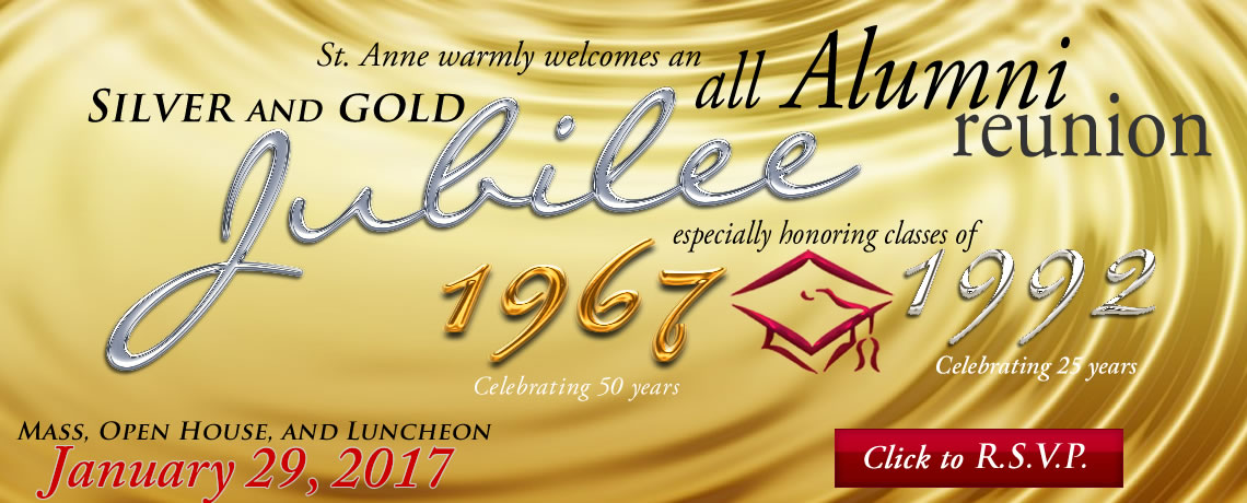 St. Anne School All Class Reunion January 29, 2017