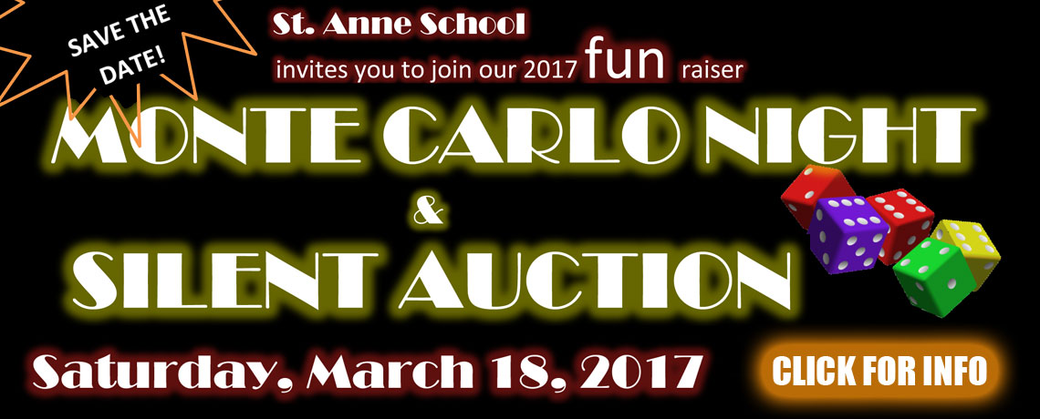 Monte Carlo Night & Silent Auction 2017