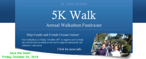5K Walk 2018-2019